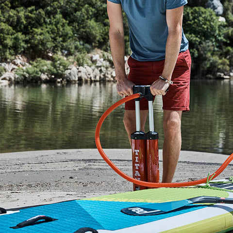 "Red Paddle Co / 2018 13'2"" Voyager+ MSL Inflatable SUP"