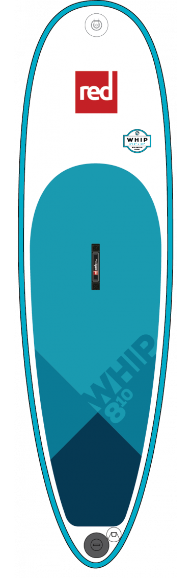 "Red Paddle Co / 2019 8'10"" Whip MSL Inflatable SUP"