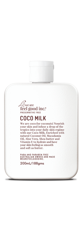 Feel Good / Coco Milk Moisturizer