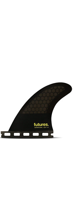 "FUTURES /  QD2 4"" Symmetrical Quad Rear Fin"