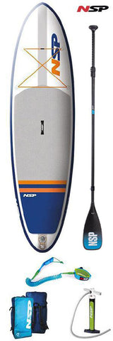 NSP / O2 Allrounder SR Inflatable SUP Package
