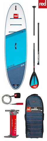 "Red Paddle Co / 2021 Ride 10'8"" iSUP Package"