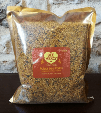 Raw Natural Bee Pollen Bag (500g/1kg)