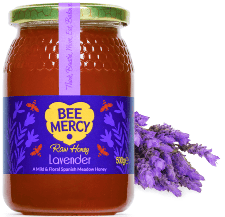Raw Lavender Honey