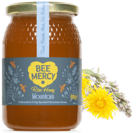 Raw Mountain Honey (500g/1kg)