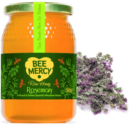 Raw Rosemary Honey (500g/1kg)