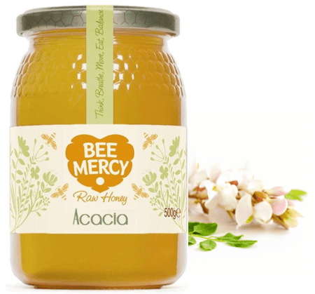 Raw Acacia Honey 500g Jar