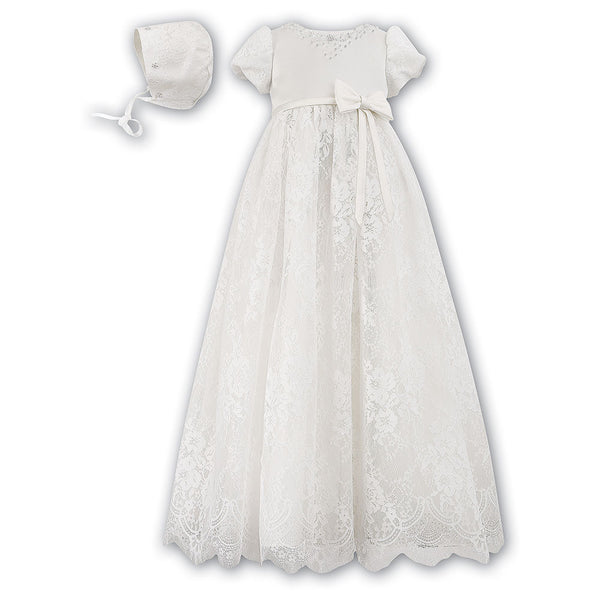 Sarah Louise - Christening gown, ivory, 001164