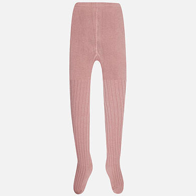 "Mayoral - Ribbing Tights Rose - 10098 <BR> <span style=""color:#FF0000"">SALE"