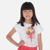 "Mayoral - Tee shirt 6002  79 ""Lovely Girl"" design <BR> <span style=""color:#FF0000"">SALE"