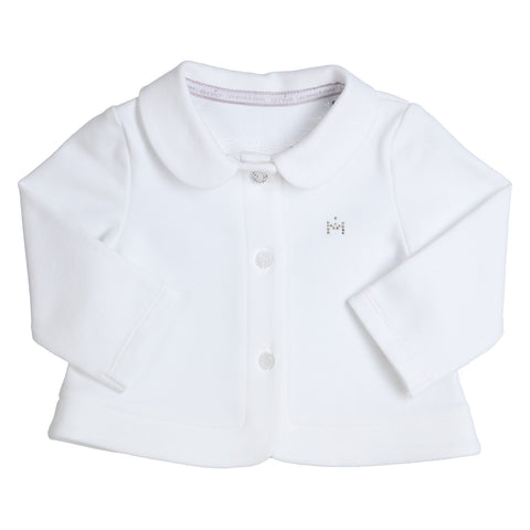 GYMP - White baby Cardigan jacket
