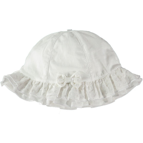 Emile et Rose - Baby sun hat, white, 4733