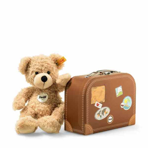 Steiff - Fynn with suitcase 28cm  111471