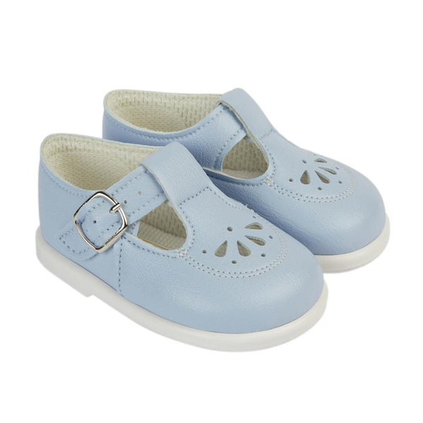Early Days - first walker shoes H506, pale blue