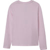 "DKNY - Pink long sleeved tee with sparkle DKNY graphic D35Q78/45L<BR> <span style=""color:#FF0000"">SALE"