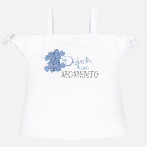 "Mayoral - Strap Tee shirt 6029 ""Momento"" design"