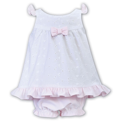 Sarah Louise- Dani sundress and pants D09427 w/pink