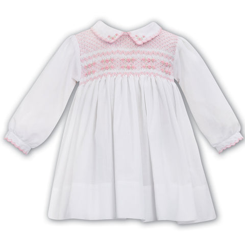 Sarah Louise - Handsmocked dress 012048