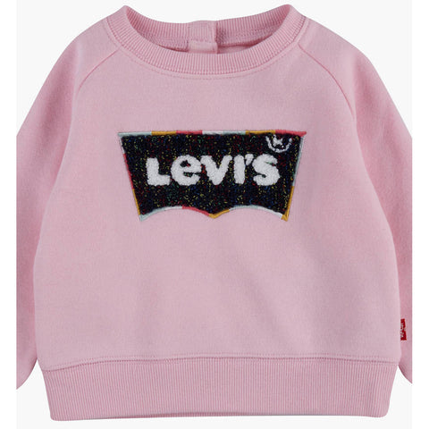 Levi's pink sweat top, girls, at Betty Mckenzie Cleethorpes