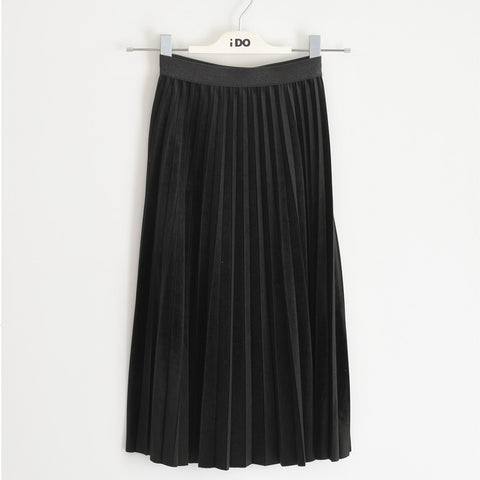 iDo - Black pleated skirt