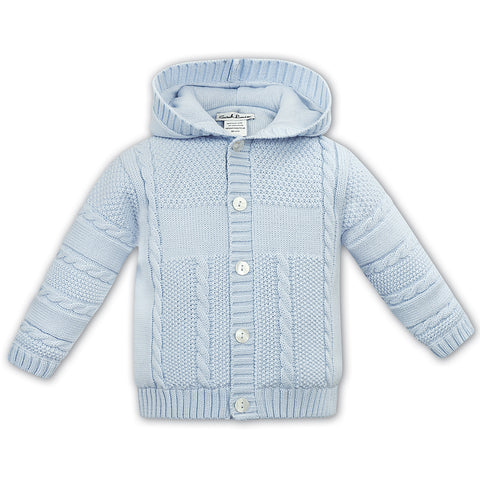 Sarah Louise - Pale blue cardigan / jacket 008126