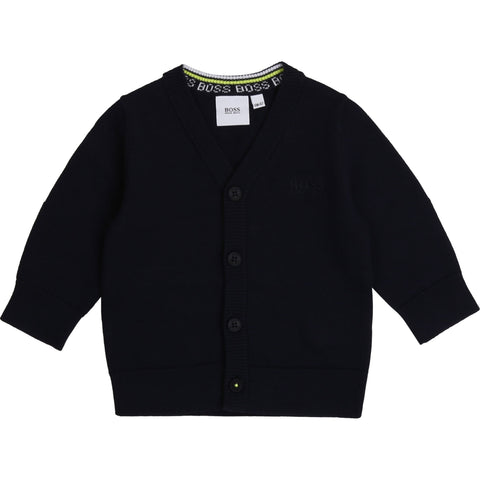 Boss - Cardigan J05818 navy