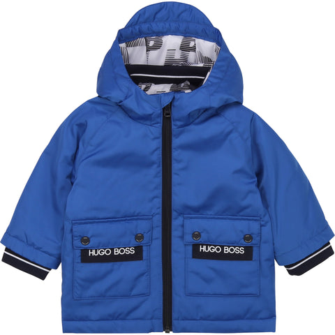 Boss - Coat, blue J06215/871