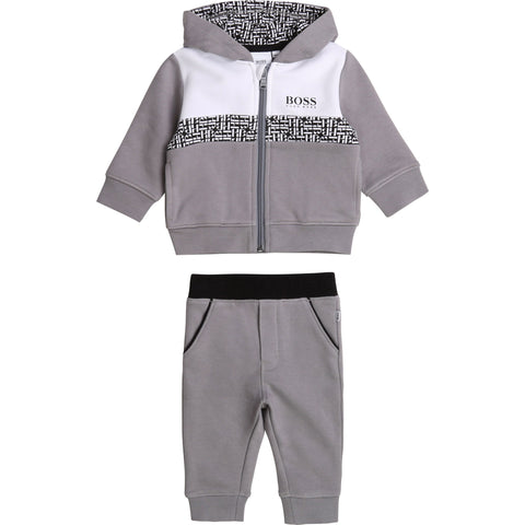 Boss - grey track suit J28079/054