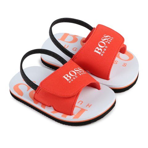"Boss - flip flops, orange, J09123/41C<BR> <span style=""color:#FF0000"">SALE"