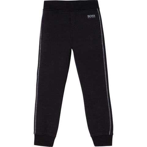 Boss - Black jogging bottoms J24661/09B