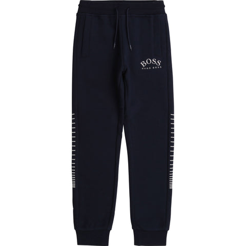 Boss - navy jogging bottoms J24666/849