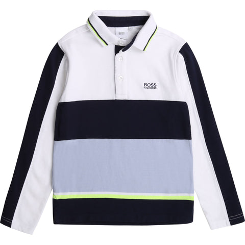 Boss - Long sleeved tee shirt J25G49/N687