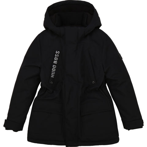 Boss - Black coat J26413/09B