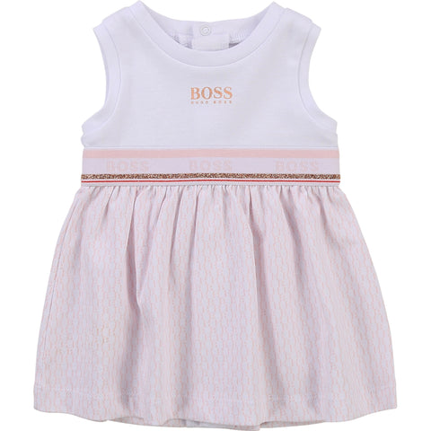 Boss - Baby girls dress J2056/10B