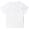 "Baby Boss tee shirt  ""Little BOSS' front print  Colour - white  100% cotton"