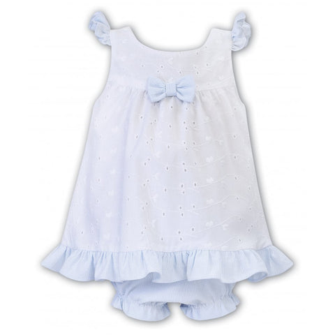 Sarah Louise- Dani sundress and pants D09427 w/blue