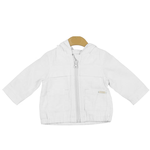 Mintini - Lightweight jacket, white MB3415B