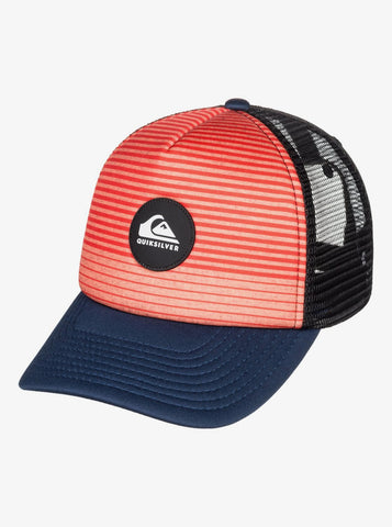 Quiksilver - Cap navy, black and orange, AQBHA03404