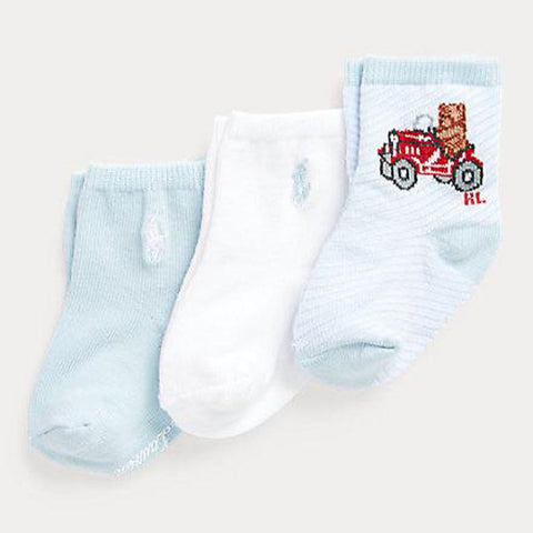Ralph Lauren - 3 pack socks