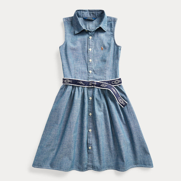 "Ralph Lauren - Dress (7-14YEARS) <BR> <span style=""color:#FF0000"">SALE"