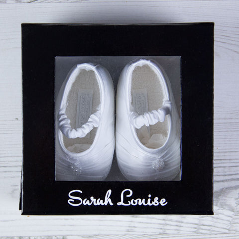 Sarah Louise Shoes Girls Shoes - White 004409