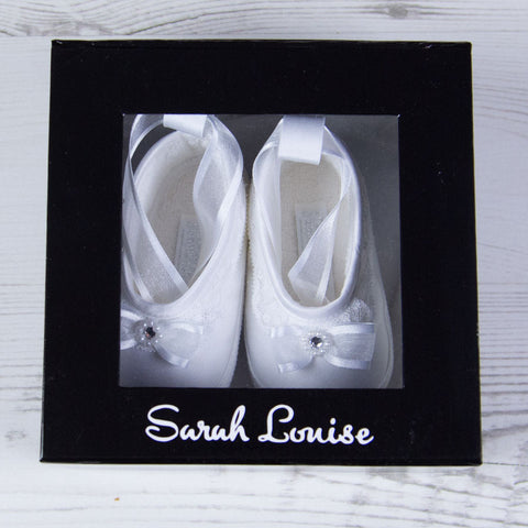 Sarah Louise Shoes Girls Shoes - White 004408