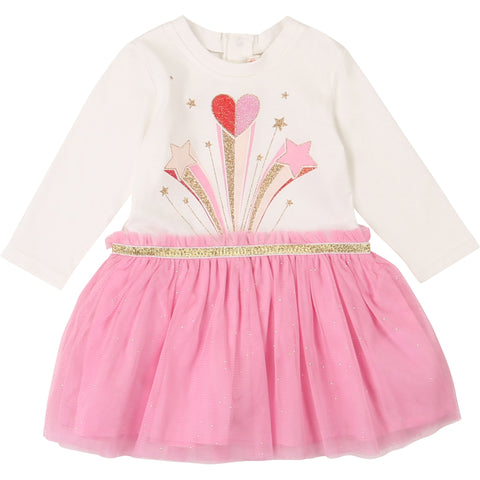 Billieblush - Dress cream/ pink U02289