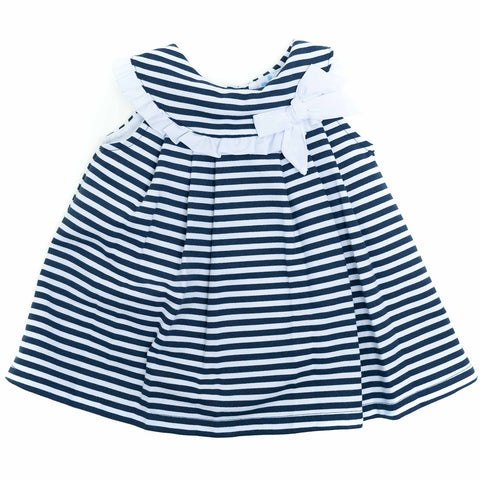 Sardon - dress 19BB-679 navy stripe