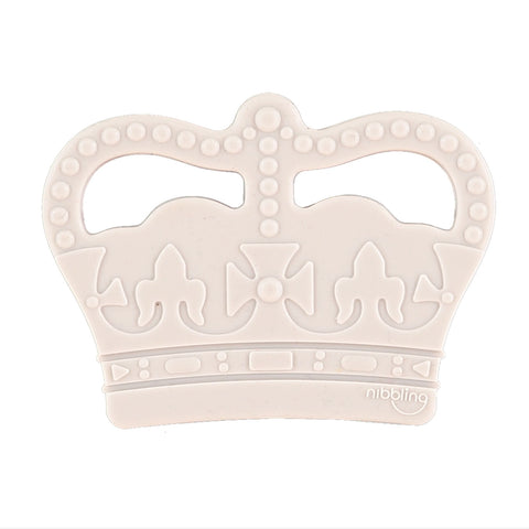 Nibbling London - Teething toy, Royal range crown