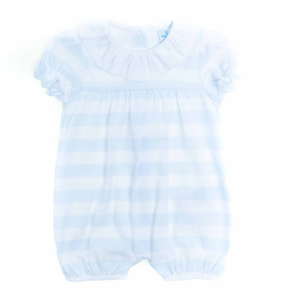 Sardon - Blue and white stripe romper, 019CO-509