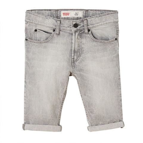 Levi's - Grey denim shorts 511, NN25057