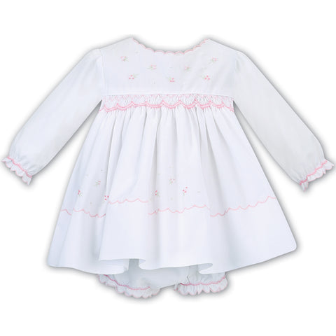 Sarah Louise - Hand smocked dress and pants, W/P 011616