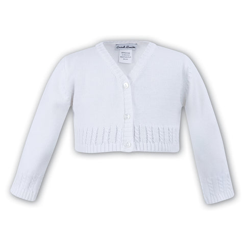 Sarah Louise - cardigan 006705 white