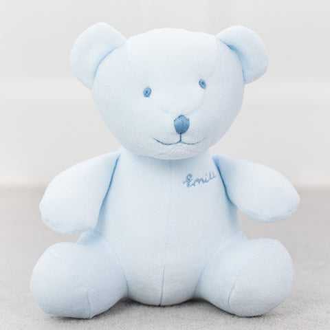 Emile et Rose - Large pale blue bear, Emile